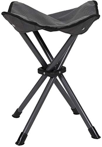 STANSPORT  Deluxe 4 Leg Camping Stool Compact Lightweight Portable Stool for Outdoor Use