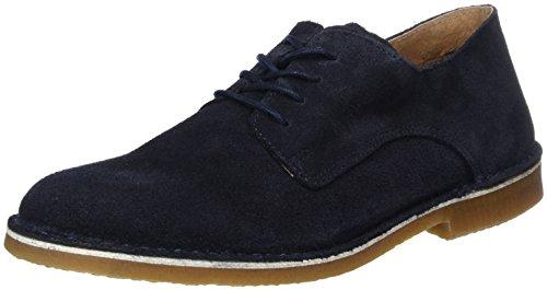 Selected Shhroyce New Light Shoe, Desert Boots Homme, Bleu (Dark Navy), 41 EU