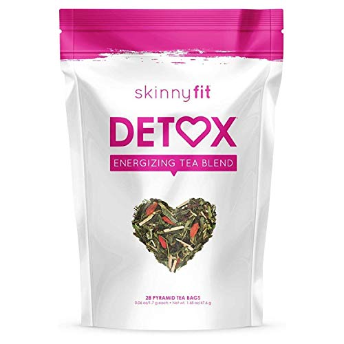 SkinnyFit Detox Tea: All-Natural, Laxative-Free, Supports A Healthy Weight, Helps Reduce Bloating, Natural Energy, Supports Immune System, Vegan, 28 Servings