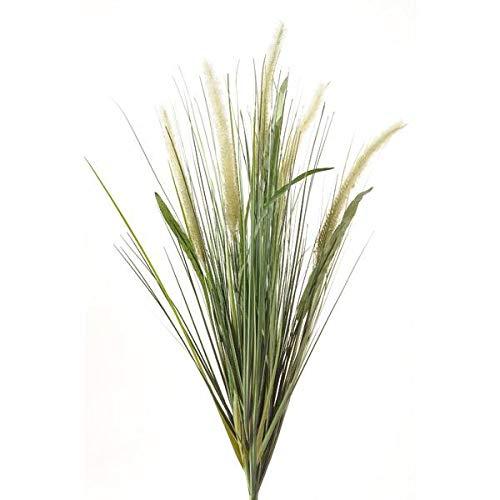 artplants.de Deko Lampenputzergras, 5 Rispen, 70cm - Kunstgras - Dekogras