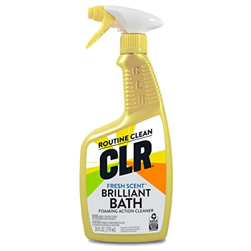 Product Image of the CLR Brilliant Bath, Fresh Scent Foaming Action Cleaner, 26 Ounce Spray Bottle (Packaging May Vary)