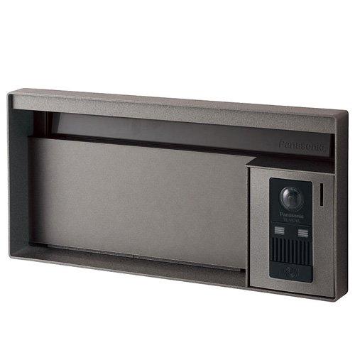 パナソニック ユニサス ブロックタイプ 1Bサイズ CTBR7611SC ワンロック錠 表札スペースのみ ※インターホン本体・インターホンカバーは別売です 『郵便ポスト』 ステンシルバー