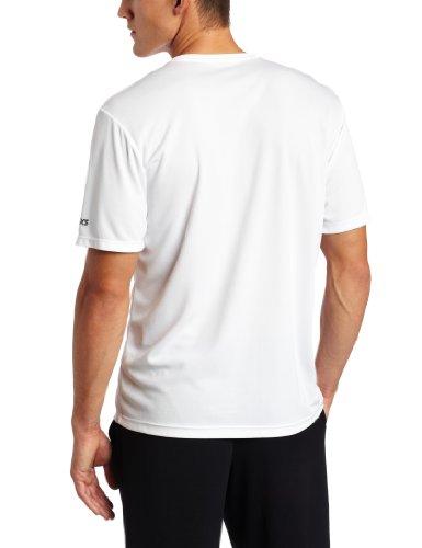 ASICS MR1194 T-Shirt à Manches Courtes pour Homme Noir Taille L