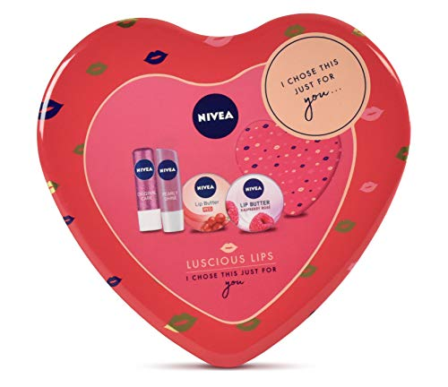 Set de regalo Nivea Luscious Lips Pack de regalo