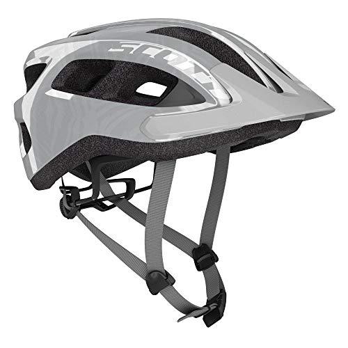 SCOTT 275211 Fahrradhelm, Unisex, Erwachsene, Vogue Silber, 1 Größe