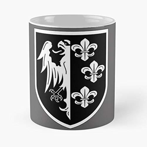 Orangeburps German Charlemagne Waffen Volunteers Division Ww2 French Wehrmacht Army Best 11 oz Kaffeebecher - Nespresso Tassen Kaffee Motive