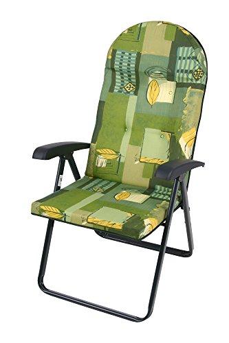 Dajar Klappstühle Relaxsessel Galaxy Plus, grün