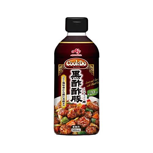 味の素【「Cook DoR」黒酢酢豚用500mlボトル×6×2】