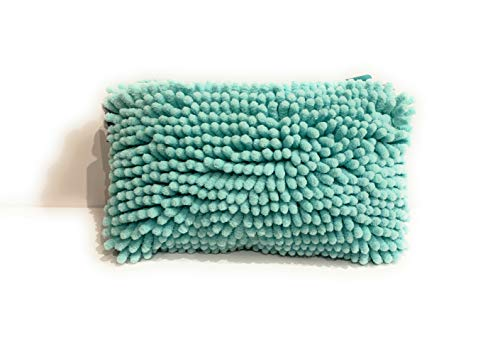Fuzzy Teal Marker Pouch