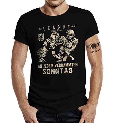 T-Shirt für American Football Fans: An jedem verdammten Sonntag XL