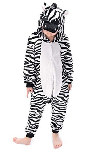 Kigurumi Pijama Animal Entero Unisex Niños Capucha