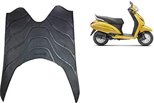 SCORIA Scooter Foot Mat Black Floor Mat for Honda Activa 3G/ 4G/...