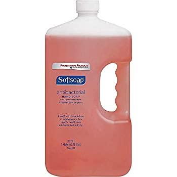 Softsoap Antibacterial Hand Soap Crisp Clean 1 Gallon Refill