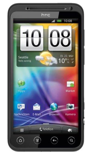 HTC Evo 3D Smartphone (10,9 cm (4,3 Zoll) Bildschirm, Touchscreen, 5 Megapixel Kamera, Android 2.3 OS) schwarz
