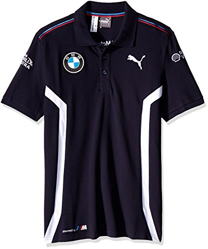 BMW Team Polo blau, L