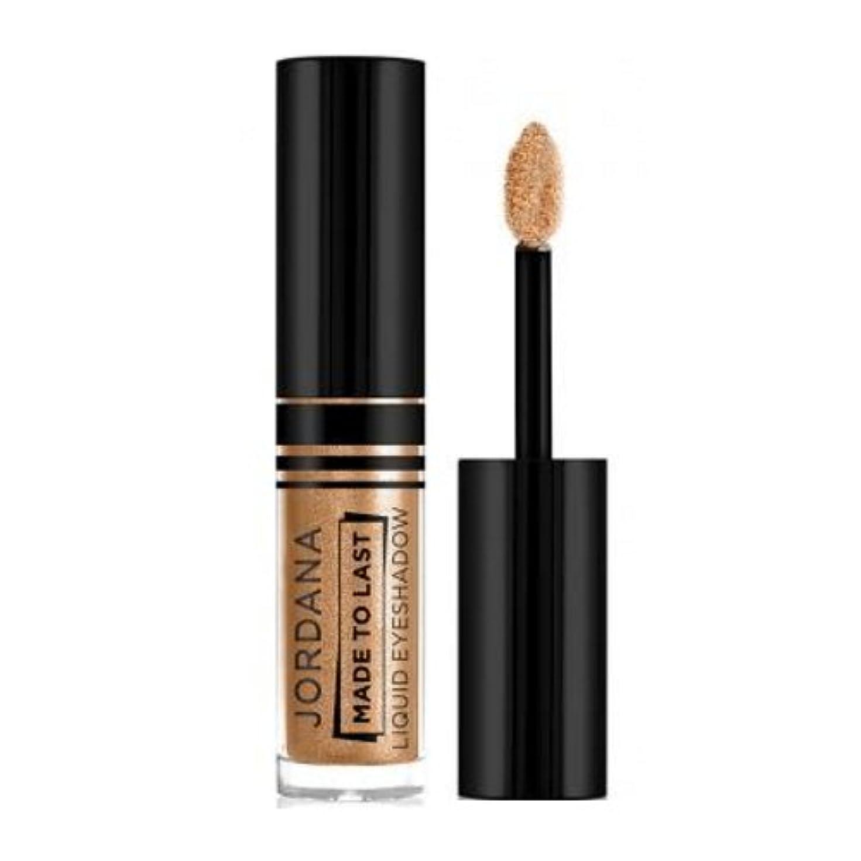 ケープ処方するアラーム(3 Pack) JORDANA Made To Last Liquid Eyeshadow - Uphold Gold (並行輸入品)