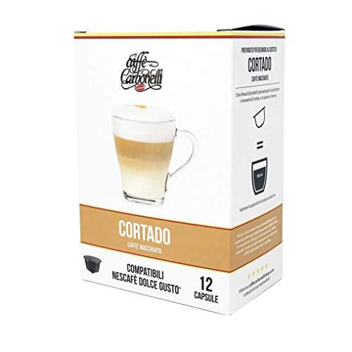 Caffè Cortado - Astuccio 12 capsule compatibili Dolce Gusto - Caffè Carbonelli