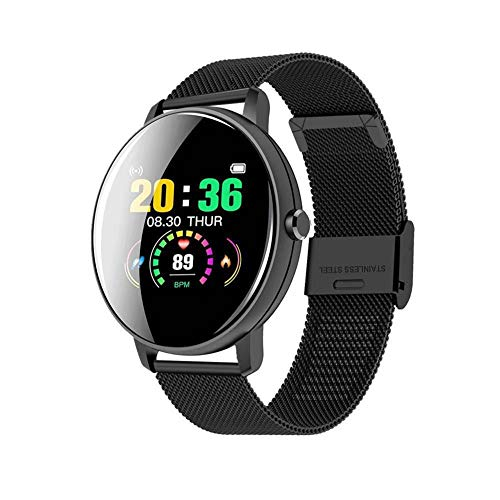 Reloj Inteligente con Esfera Personalizada, Smartwatch para Hombres y Mujer con Monitor de Frecuencia Cardíaca, Resistente Al Agua hasta 5ATM, 14 Modos Deportivos