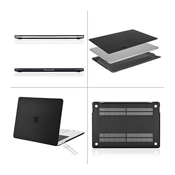 "MOSISO Compatible with MacBook Pro 16 inch Case 2020 2019 Release A2141 with Touch Bar Touch ID, Ultra Slim Protective… 3 The case was designed ONLY to be compatible with MacBook Pro 16 inch with Touch Bar & Touch ID & Retina Display (model: A2141, Release in 2020 2019 -- MVVJ2LL/A, MVVL2LL/A, MVVK2LL/A, MVVM2LL/A). WARNING: This case is NOT compatible with other model laptops. Please kindly check the model number ""A2xxx"" on the back of the laptop before your purchase, make sure you choose the exact same model number as the listing title stated ""A2141"". NO Cut Out design, transparency is different from color to color. Case dimension: 14.17 x 9.84 x 0.7 inch, compatible with MacBook Pro 16 inch with Touch Bar and Touch ID with dimension: 14.09 x 9.68 x 0.64 inch. Ultra slim light weight hard case has 13 oz in weight almost adds no weight to your laptop."