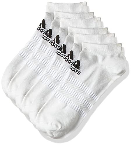 adidas Herren Light Low 3PP Socken, White, L