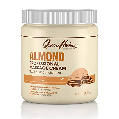 Queen Helene Professional Massage Cream, Almond, 15 Oz (Packaging May Vary)