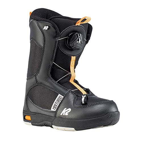 K2 Mini Turbo Black Botas de Snowboard,...