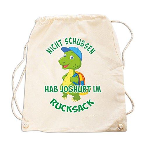 Rucksack Nicht schubsen hab Joghurt im Rucksack