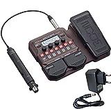 Zoom A1X - Aparato de efectos para instrumentos acústicos (incluye fuente de alimentación Keepdrum de 9 V)