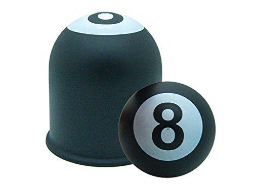 Schutzkappe Anhängerkupplung Abdeckung Billard 8 Ball Eight Ball Schwarze Acht