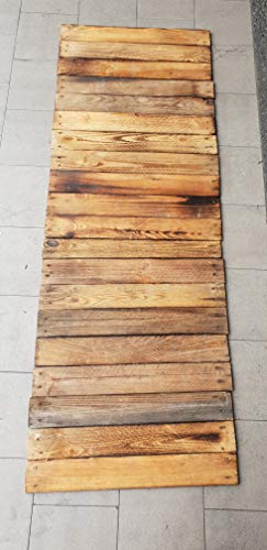 Kistenkolli Altes Land 20 x geflammte Holzbretter von Alten Obstkisten