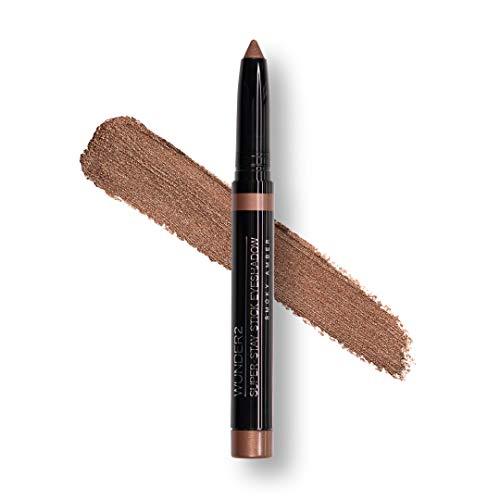 Wunder2 SUPER STAY STICK EYESHADOW Makeup Eye Shadow Pencil Crayon, Smokey Amber