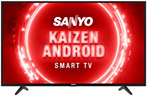 Sanyo 108 cm (43 inches) Kaizen Series Full HD Certified Android LED TV XT-43FHD4S (Black)...