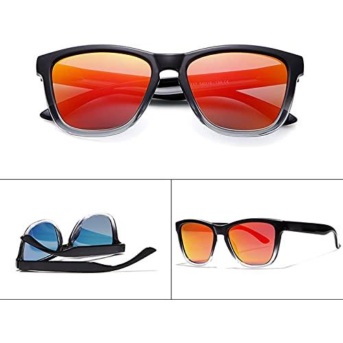 Amethyst Gafas de Sol para Hombres y Mujeres, protección UV400 polarizada, Marco liviano, es Adecuado para Comprar Gafas Deportivas para Conducir en Bicicleta,D