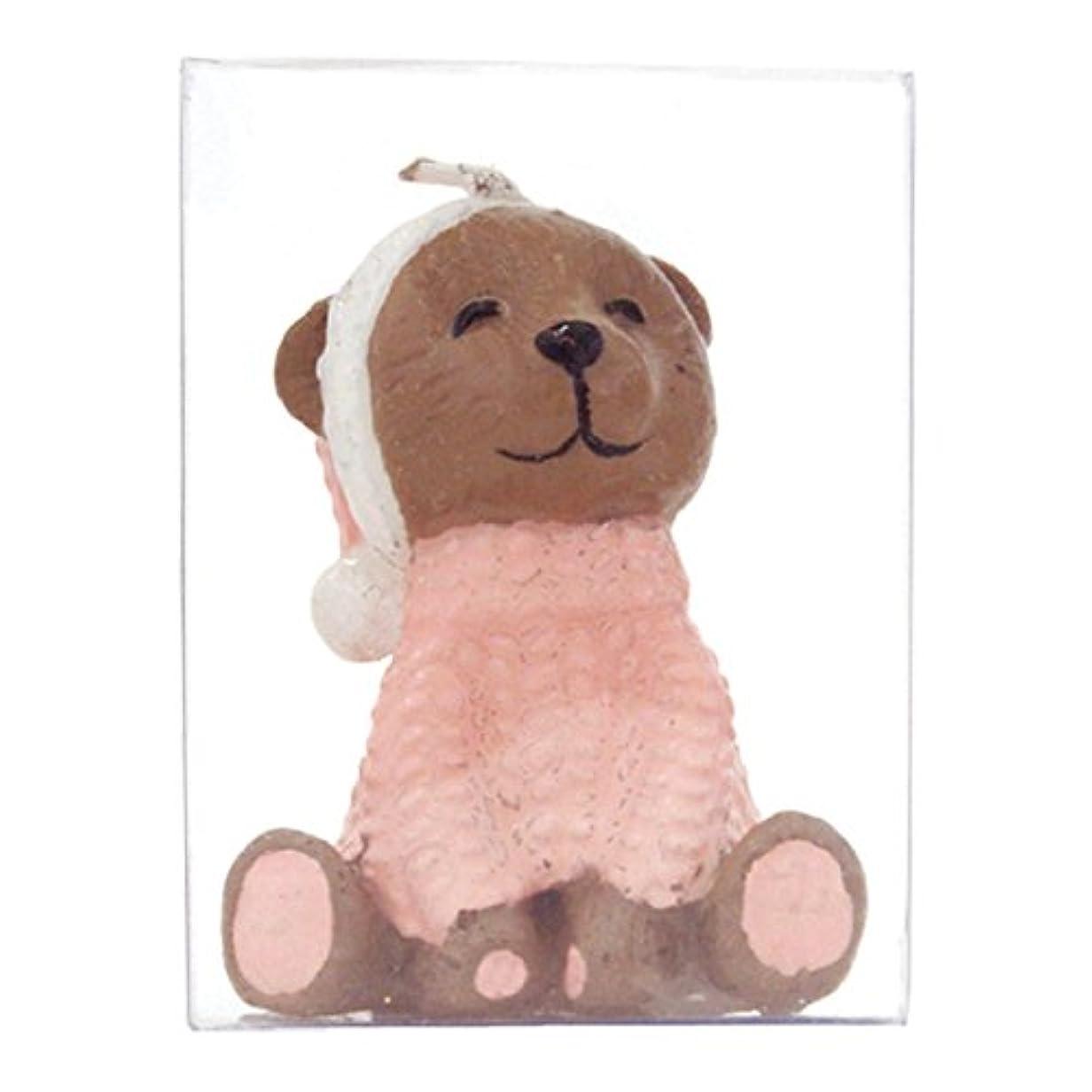 羊セラフミシンピンクベア キャンドル 10個入り 55740020