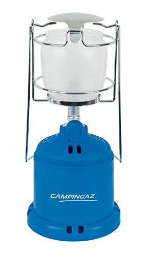 Camping GAZ 204684 Lampe Camping 206 L mit Kunststoffglocke 10 bis 80 Watt