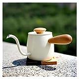cafetera Coffee Single Drip Pour sobre Kettle Mini Brew Coffee Coffee Beenkeck Acero Inoxidable Definitivamente Calidad para un Buen café teteras para te (Color : Sliver)