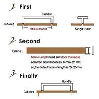ハードウェア部品 キャビネットハンドル引き出しハンドルの家具ハードウェアおよびツール (Colore : Hole to hole160mm)