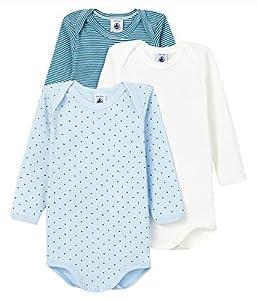 Petit Bateau 5943100 ropa interior, Multicolor, 6 mes para Bebés