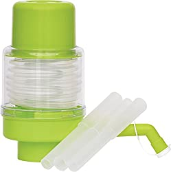 Empathy Manual Water Pump for Bisleri and Regular Water Bottles (Green Colour),Empathy