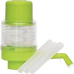 Empathy Manual Water Pump for Bisleri and Regular Water Bottles (Green Colour),Empathy
