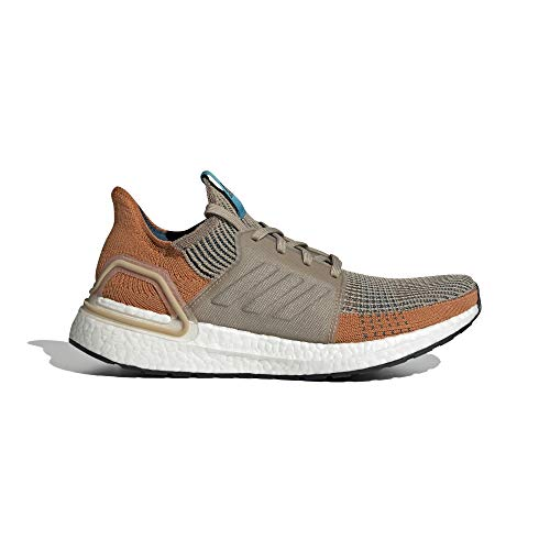adidas Ultraboost 19 M Zapatillas de Running Hombre, Hombre, G27515, marrón, 43 1/3 EU
