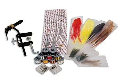 Lineaeffe 5030011 Kit Completo di Attrezzi e Materiali per La Preparazione delle Mosche