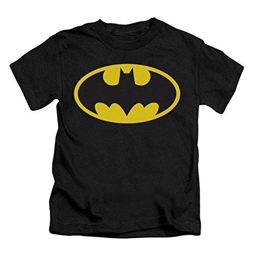 DC Comics Batman Kids Symbol T-Shirt- Juvenile 7 Black