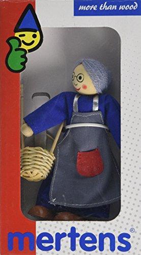 Mertens 57001 - Puppe, Oma mit Zubehör
