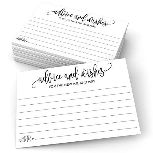 321Done Advice and Wishes for The New Mr and Mrs (50 Cards) 4