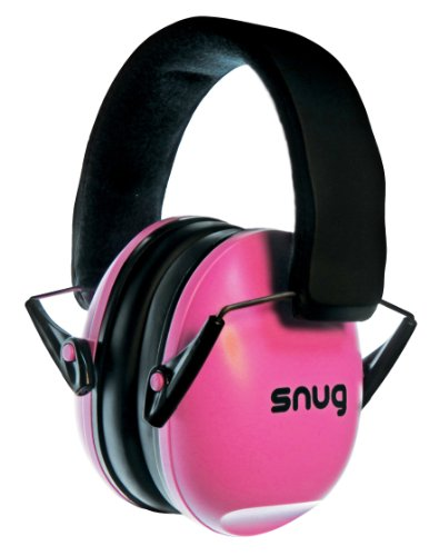 Snug Kids Ear Protection - Noise Cancelling Sound Proof Earmuffs/Headphones for Toddlers, Children & Adults (Pink)