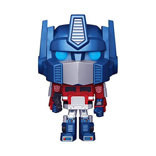 Funko Pop! Retro Toys: Transformers - Metallic Optimus Prime Amazon Exclusive, 3.75 inches