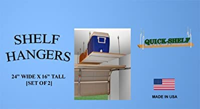 "product image for Shelf Hangers - 24"" Wide X 16"" Tall [4 Pack]"