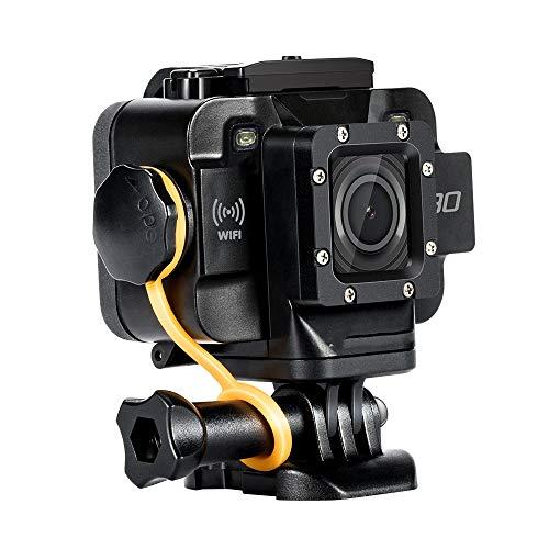 ZYJANO Caméra Sport Caméra d'action Mini vidéo étanche WiFi intégré Sport caméra DV Sport Starlight Night Vision Soutien Micro Externe