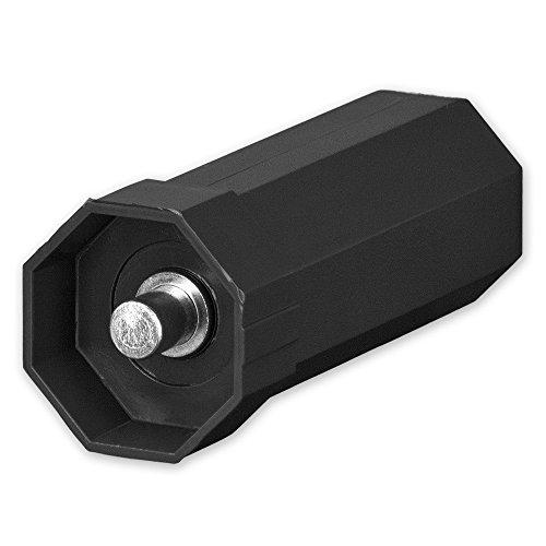 Mini-Walzenkapsel für Achtkant Rolladenwelle SW 40, innenliegender Achsstift 10 mm, von EVEROXX
